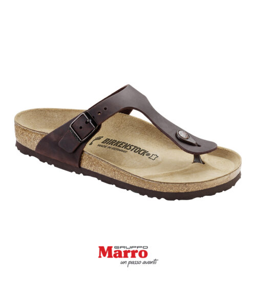 Birkenstock Gizeh Oiled leather Habana E 9500